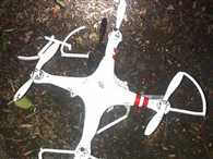 US Worker Crash Drone in White House