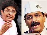 Delhi assembly election fight on Facebok