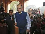 Finance Minister Arun Jaitley table general budget in loksabha