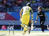 Australia lost eight wickets for 26 runs