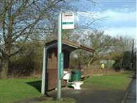 Is this a stop for the No2? Mystery prankster installs fully functional toilet at bus stop