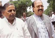 Amar Singh Met Mulayam And Akhilesh In Lucknow