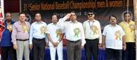 31वीं सीनियर राष्ट्रीय बेसबाल चैंपियनशिप शुरू