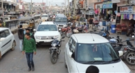 बेलगाम यातायात से बिगड़े हालात, हर समय लगता है जाम