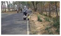 शुल्क बढ़ोतरी के विरोध में ऑटो चालक संघ का सड़क जाम