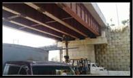हाथ से खुल गए जिटौली रेलवे ओवर ब्रिज के नट बोल्ट