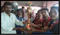 फाइनल मुकाबला में चिरैया टीम विजयी