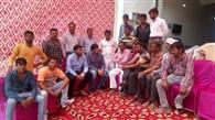 भाजपा युवा मोर्चा के कार्यकर्ताओं ने की बैठक