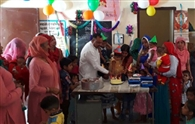 बेटियों का सामूहिक जन्मोत्सव मनाया