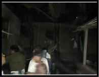 कुजीबाना में आग से तीन दर्जन घर जले