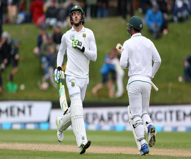 New Zealand is in leading position on the fourth day of Hamilton Test against South Africa
