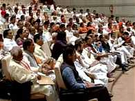 Delhi: BJP parliamentary  meeting underway.