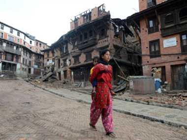 Kathmandu relocate 10 foot after the earthquake