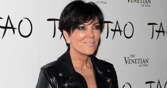 Kris Jenner blackmailed over nude tape