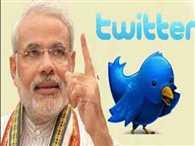 Modi reaches third position on twitter