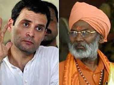 Rahul is responsible for Earthquake: Sakshi Maharaj