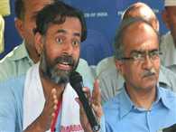 Ex-APP leaders will do swaraj samvad in 20 cities