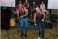 Virat Kohli and chris gayle dance at an event in Bangalore