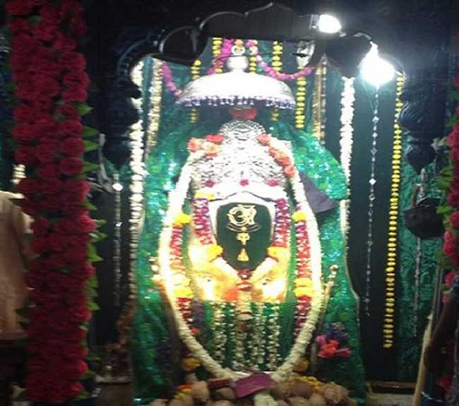 Recognize that the 350 year old shani Must complete votive temple is sought