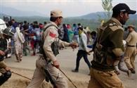 सैन्य शिविर के बाहर हिंसा, प्रदर्शनकारी की मौत