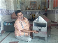 मंदिर के दानपात्र का ताला तोड़ नकदी चोरी