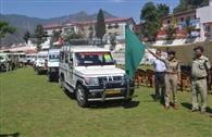 ृपुलिस ने किया 250 वाहन का सत्यापन