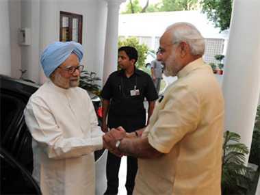 Congress worried on Manmohan-Modi meeting