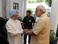 Congress worried on Manmohan-Modi meeting