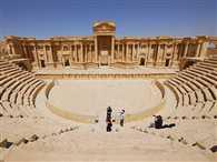 ISIS terrorist execute 20 men in ancient Roman amphitheatre of Palmyra