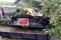 Rain with the storm killed 12  person in UP