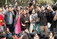 Mujeeb Ahmed appeared in JNU most wanted