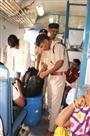 रेलवे स्टेशन पर जीआरपी व आरपीएफ ने चलाया चे¨कग अभियान