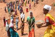 Each family received 49 days work in a year in MGNREGA