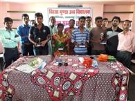 ग्रामीण क्षेत्र में प्रतिभा सम्मान से छात्रों का बढ़ेगा मनोबल