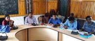 पंचायत समिति की बैठक में योजनाओं की समीक्षा