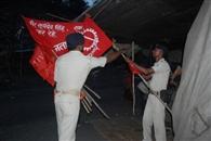 - पुलिस ने जमसं का टेंट-झंडा उखाड़ शुरू कराई ट्रांसपोर्टिंग, 61 समर्थकों को पकड़ा
