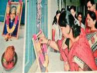 Jharkhand minister neera pays floral tribute to Kalam, pictures go viral