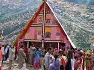 Chandi temple in the lap of mother nature