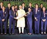 अभिभूत हुईं भारतीय महिला क्रिकेटर, मोदी, प्रभु और BCCI से मिला सम्मान
