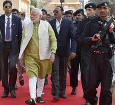 pm narendra modi reprimand spg