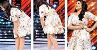 Parineeti Chopra's discomfort with her skirt