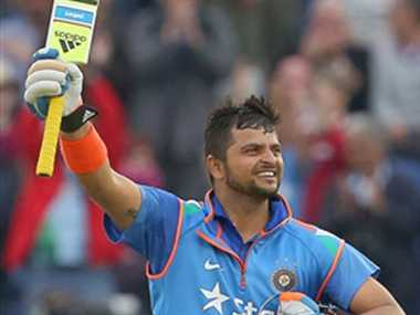 I had to bring the smiles back on my teammates' faces, raina
