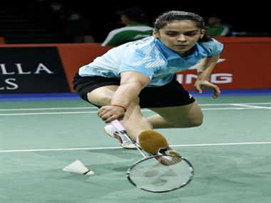 Saina Nehwal reached the quarterfinals of the World Badminton Championships