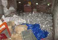 Cinema Road in the raids, the alcohol recovered millions
