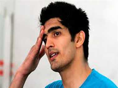 Vijender  again not get  relief, high court said- If  in hury for leave quit job