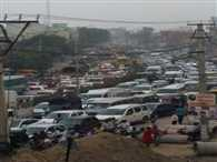 Delhi-Alwar highway jam by Raksha Bandhan festival