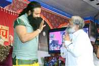 sports minister anil vij announcement to donate 50 lac for dera in questions