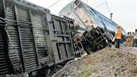 12 coaches of express train derail in Kerala, no casualties reported