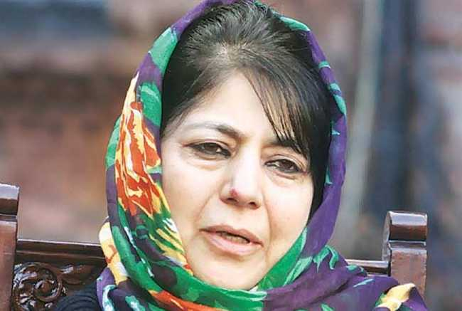 Mehbooba calls for talks with Pakistan