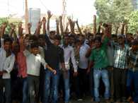 up sitapur news student protest against power cut